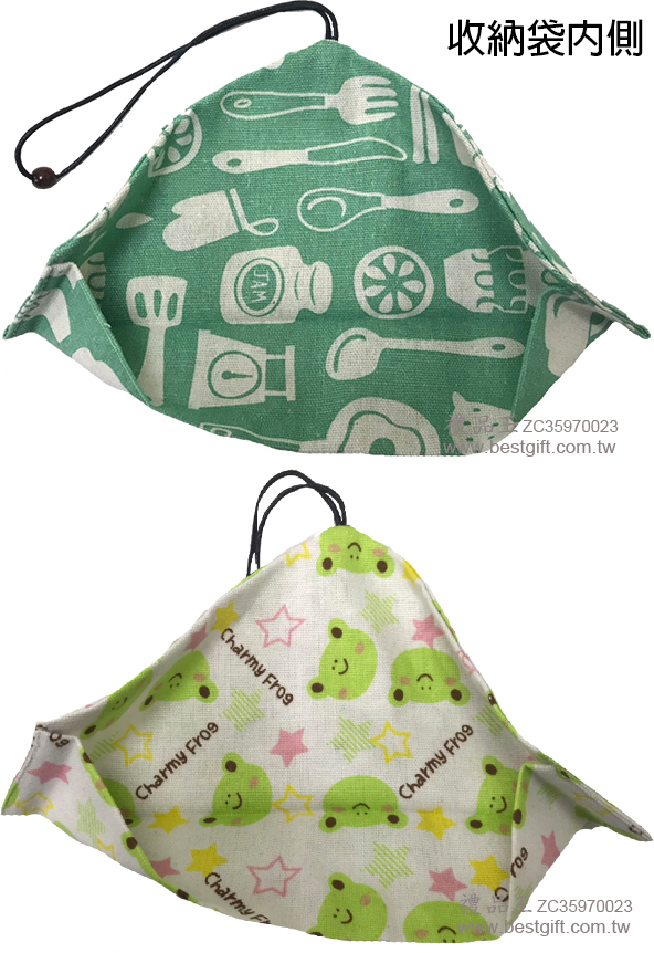 ZC35970023 和風餐具帆布收納袋